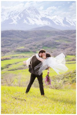 utah mountain formals wedding