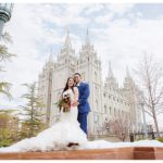 Salt Lake Temple Wedding | Terra Cooper Photography | Michelle + Rusten