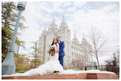 salt lake temple polynesian wedding