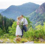 Big Cottonwood Canyon Mountain Elopement Utah | Terra Cooper Photography | Hillary + Paul