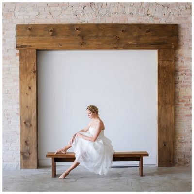 utah ballerina barefoot bride wedding photographer