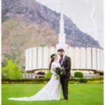 Provo Temple Wedding | Bright Building | Terra Cooper Photography | Alex + Griffin