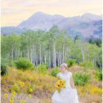 Utah fall mountain bridals | Terra Cooper Photography | Dani