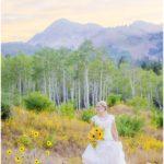 Utah fall mountain bridals | Terra Cooper Photography | Dani