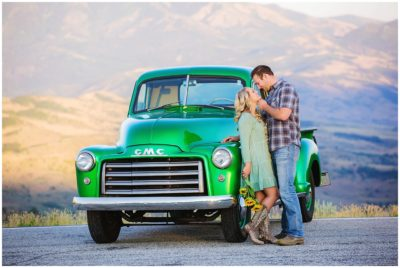 utah mountain rustic engagements