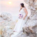 Antelope Island bridals | Terra Cooper Photography | Cody