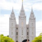 Salt Lake Temple wedding | Terra Cooper Photography | Emily + Josh