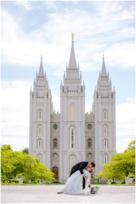 salt lake temple lds wedding