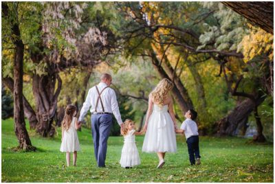 utah county garden park wedding reception