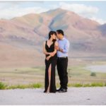 Utah Antelope Island Engagements | Terra Cooper Photography | Hien + Anoi