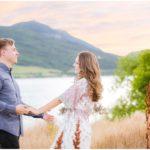 Utah Mountain Lake Engagements | Terra Cooper Photography | Stephanie + Ben