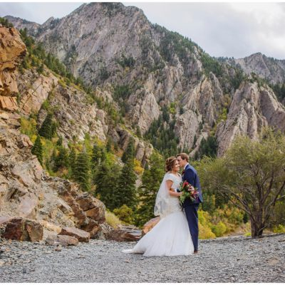 utah mountain adventurous wedding
